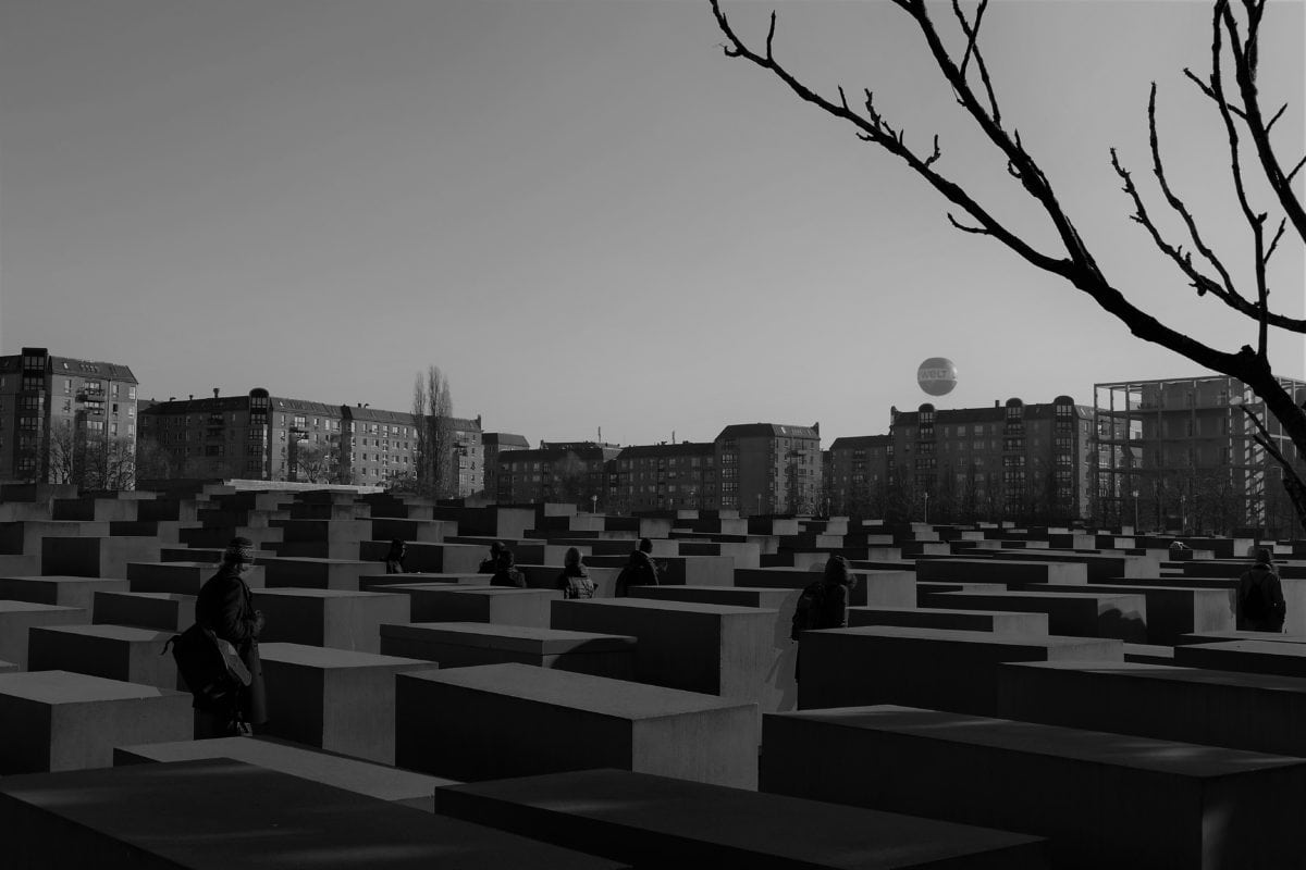 Holocaust-Mahnmal 1