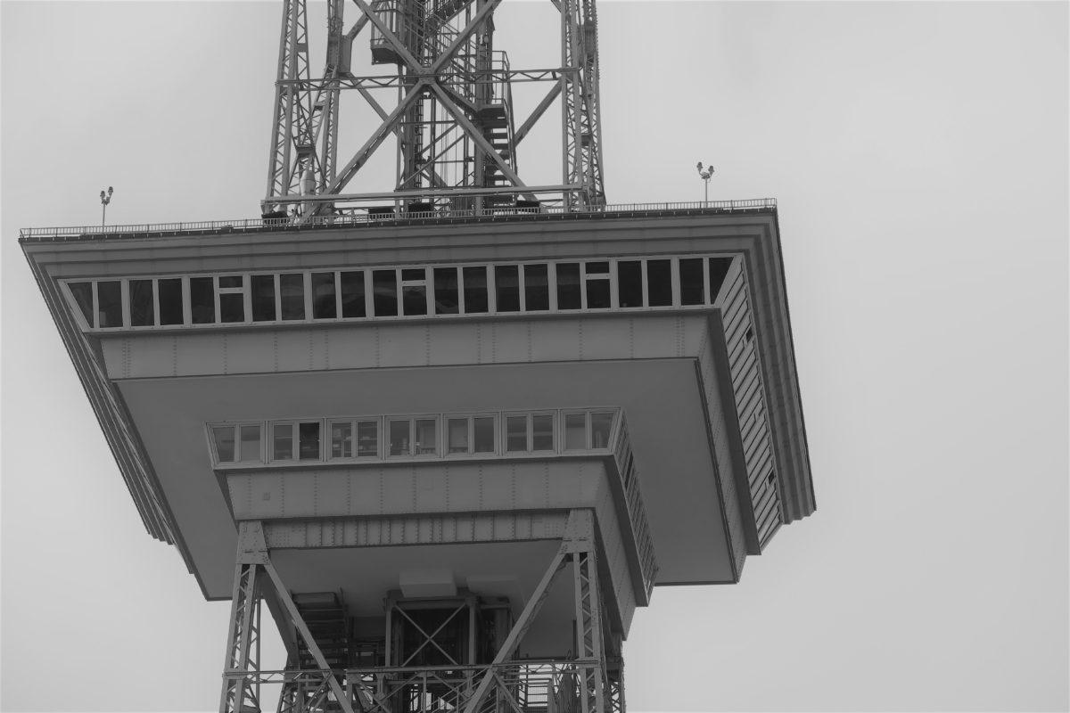 Funkturm mit Messe Berlin 1